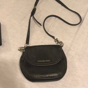 Michael Kors black bag all leather